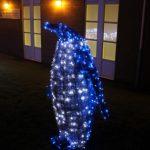 penguin christmas outdoor lights