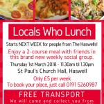New Weekly Luncheon Club!