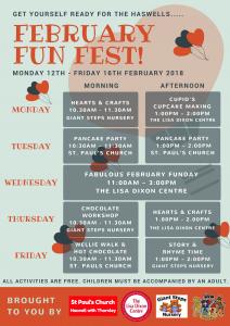 february fun fest schedule