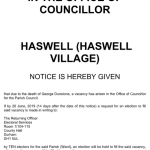 Vacancy – Haswell Parish Council